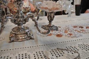 This is a closeup of the fab centerpiece I put together for Benedict Cumber-Brunch!