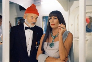 Her role as Eleanor Zissou in Wes Anderson's Life Aquatic DEFINITELY included some fabulous pieces.