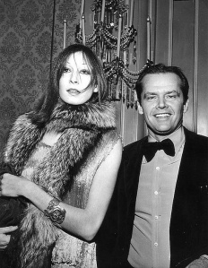 He loves that bow tie, but I love her fur wrap and her cuff bracelet!
