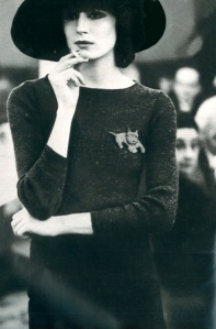 Vogue 1971, Adorable brooch - Love the whimsy!