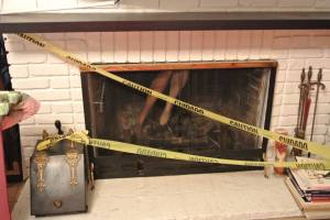 Crime Scene #3 - Fireplace