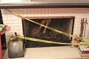 Crime Scene #3 - Fireplace