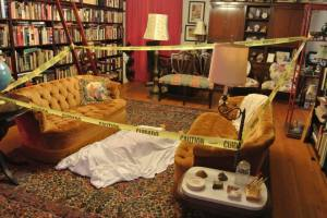 Crime Scene #1 - Library