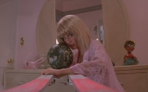 Yeah, that bowling ball is about to meet a super 80s computer.