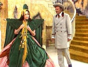 It looked great on Carol Burnett, too!