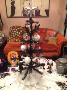 "My ""Nightmare Before Christmas"" Halloween tree!"