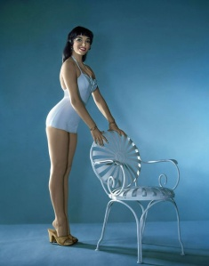 So cute! Also, I want to own that chair and that bathing suit.