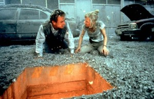 I don't necessarily consider Anne Heche a comedian, but Volcano was pretty hilarious.