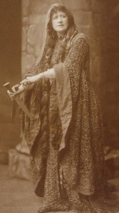 Ellen Terry as Lady Macbeth wearing the dress in 1888!