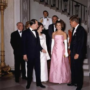 Always exceptionally stylish, Jackie wore many gorgeous ensembles.