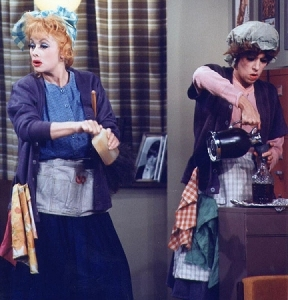 Lucille Ball was/is one of Carol Burnett's mentors, and the two redheads supported each other professionally and personally for years.