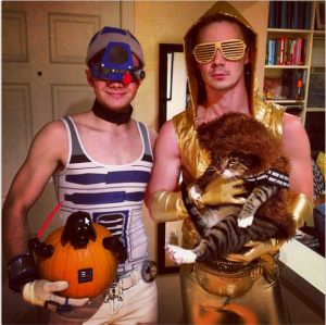 Glee's Chris Colfer (and Company) created a decidedly incredible (totally gayed up) Star Wars! LOVE THE CAT!!