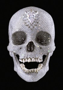 Even famous artists get in on it! Damien Hirst, especially.