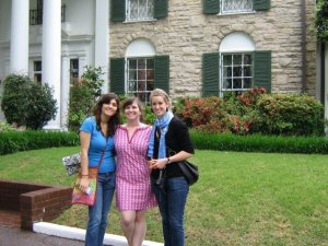 Katie and Kate drove me all the way to Memphis in 2009!