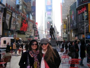 New York with Elizabeth is always the best!
