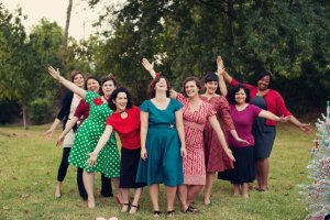 My Sew Crafty ladies are so gorgeous, together or separately.