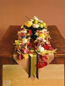 This runner really ties everything together, and allows the centerpiece to be the entire focus of the table!