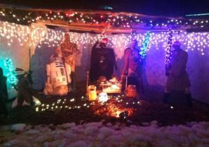 Star Wars nativity is THE BEST!