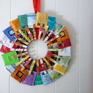 This could be less ornate, or even more so! It's a fab idea for a hostess gift, or for coworkers, anyone who loves tea, really!