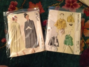 Here are a couple of retro cape patterns I have! They are so incredible! The fabric and accent options are limitless.