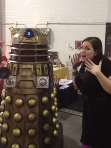 On Friday we were invaded by Daleks! Obvs, I got a picture!