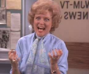 Her mildly-psychotic character, Sue Ann Nivens on The Mary Tyler Moore Show was a true original!