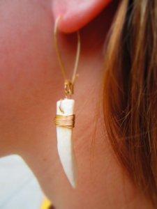 Even earrings!