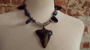 A statement shark tooth necklace!